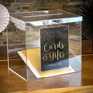 Arcylic card Box