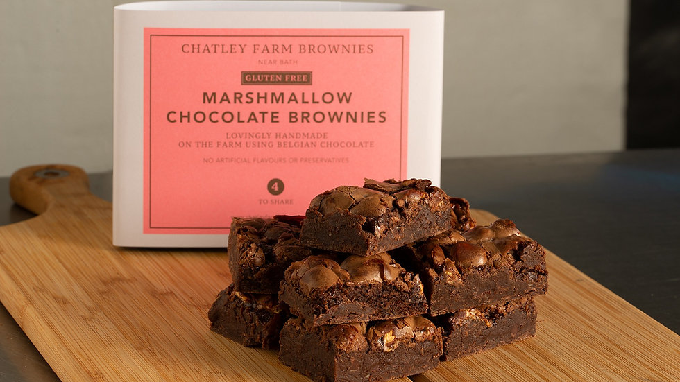 Marshmallow Chocolate Brownie (GF)