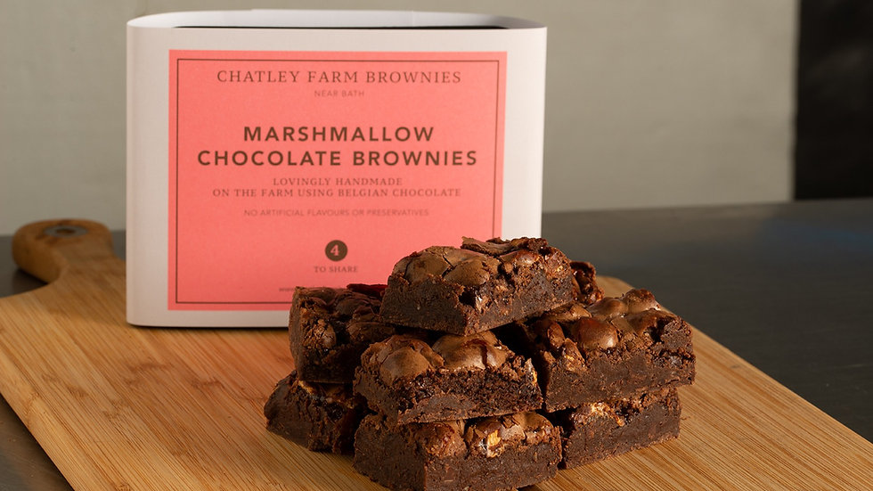 Marshmallow Chocolate Brownie