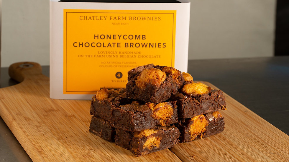 Honeycomb Chocolate Brownie
