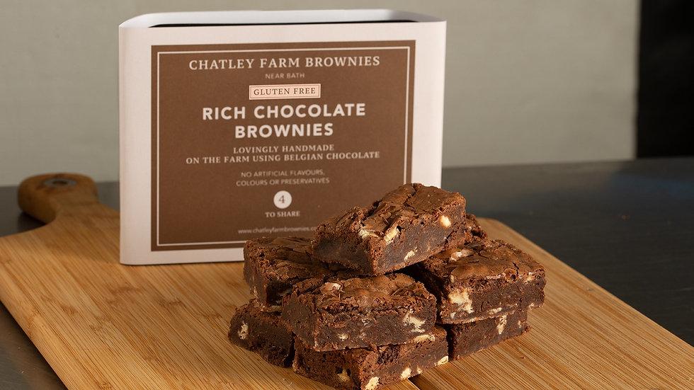 Rich Chocolate Brownie (GF)
