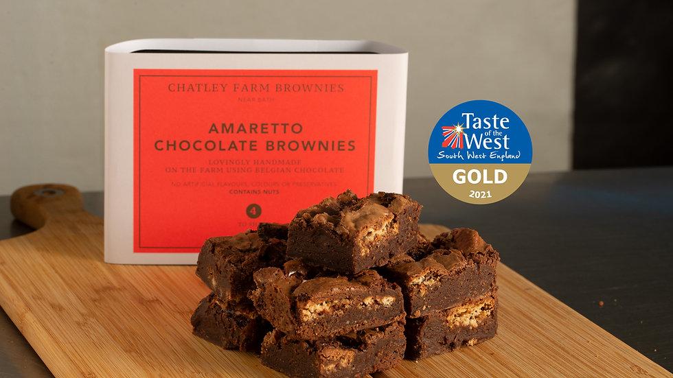 Amaretto Chocolate Brownie