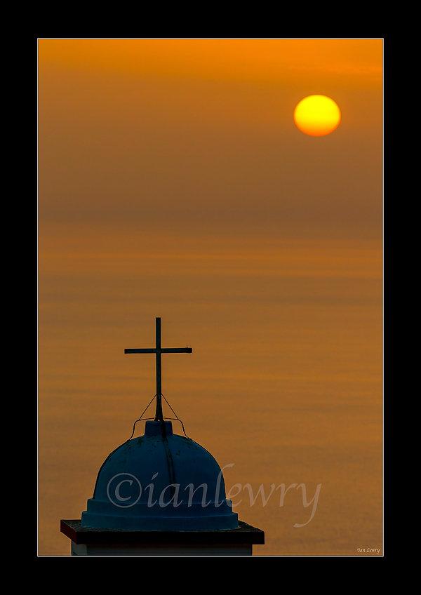 CRETE CHURCH AT SUNSET A3 900088CRT6.jpg