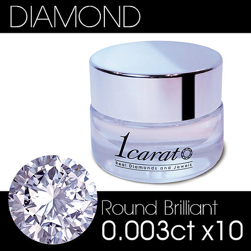 Round Brilliant 0.003ct《10石パック》