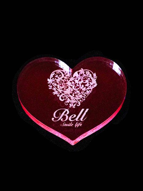 BellGloマーカー【HEART/PINK】