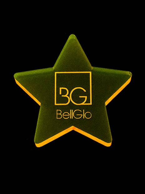 BellGloマーカー【STAR/YELLOW】
