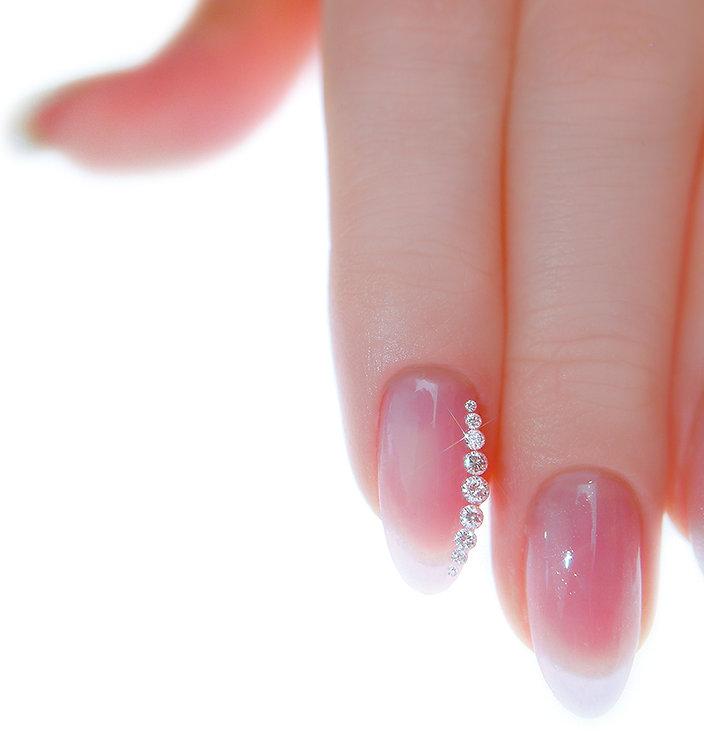 1carat ダイヤモンドネイル