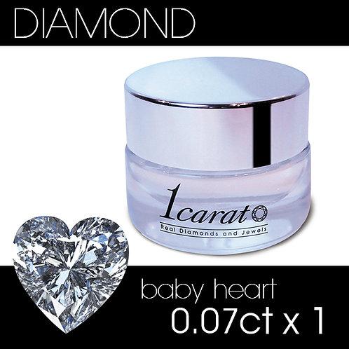 <E>baby heart 0.07ct《1石パック》