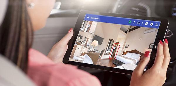 Видеодомофон в планшете мобильное видеонаблюдение