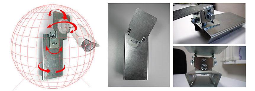 3D-кронштейн с микронным шагом позиционирования. Самая точная юстировка