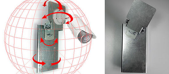3D-кронштейн с микронным шагом позиционирования