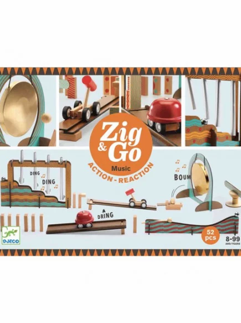 "Zig & Go Big Music 52 pcs ""Djeco"""
