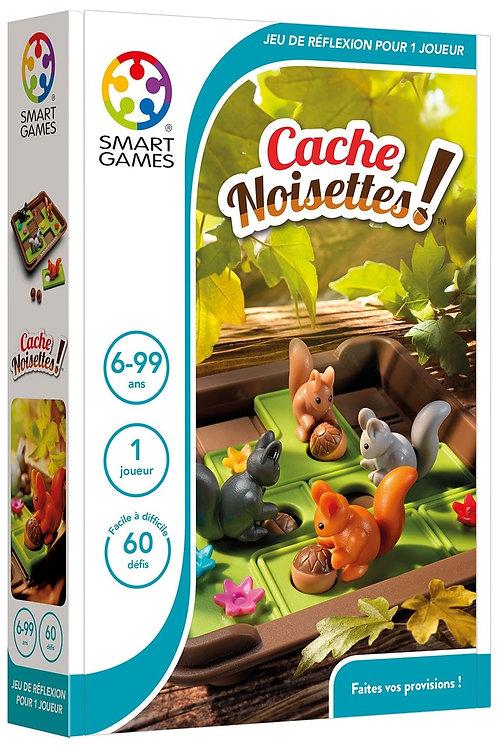 """Cache noisettes ! """"Smart games"""""""