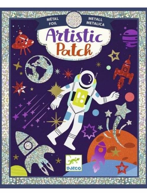 "Artistic patch - ¨Cosmos - ""Djeco"""