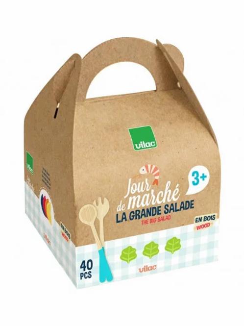 """Grande salade - jour de marché """"Vilac"""""""