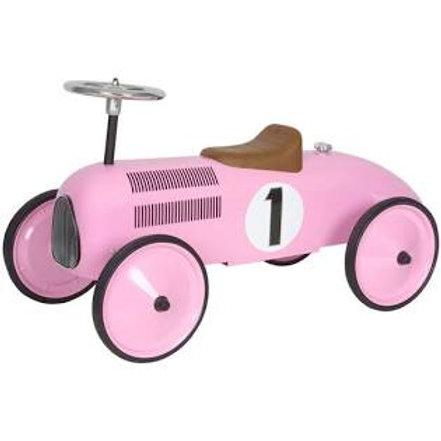 """Grande voiture vintage rose """"Protocol"""""""