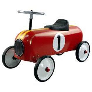 "Petite voiture vintage rouge ""Protocol"""