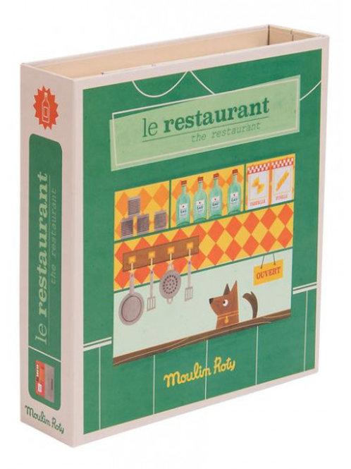 """Coffret métier Le restaurant """"Moulin Roty"""""""