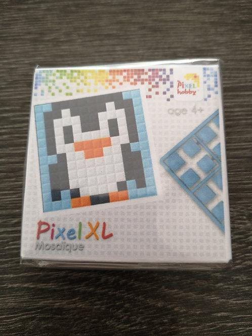 """Mini Kit Pixel XL  4 couleurs - Pingouin - """"pixel hobby"""""""