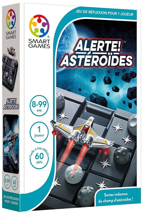 """Alerte, Astéroïde !!  """"Smart games"""""""