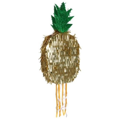 "Pinata ananas dorée ""Meri Meri"""