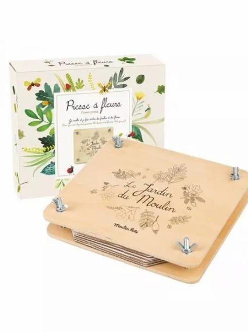 """Presse à fleurs - jardin du moulin """"Moulin Roty"""""""