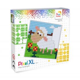 "Kit grand carré XL Mouton ""Pixel hobby"""