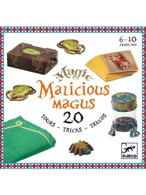 """Malicious magus - coffret de 20 tours de magie """"Djeco"""""""