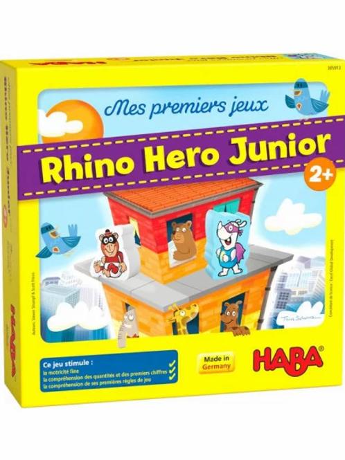 """Premiers jeux  - Rhino Héros """"Haba"""""""