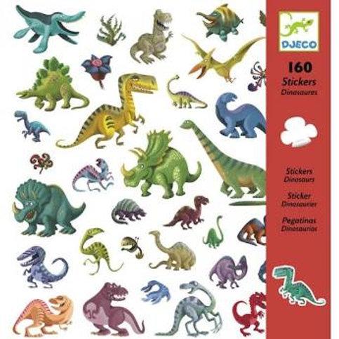 "160 Stickers Dinosaures ""Djeco"""
