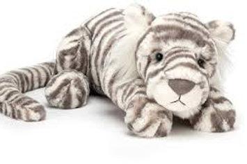 "Mon big tigre blanc - Sasha- 45 cms  ""Jellycat"""
