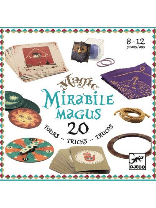 """Mirabile magus - coffret de 20 tours de magie """"Djeco"""""""