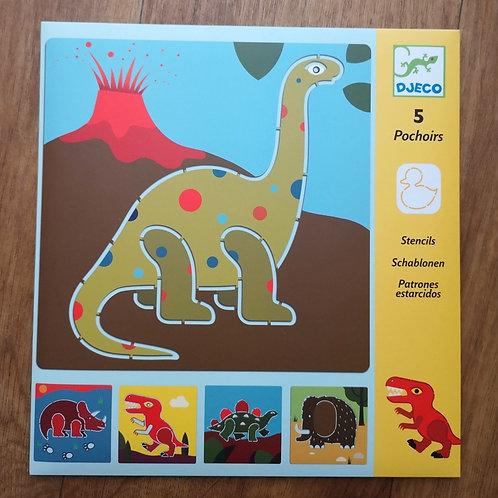 "Pochoirs Dinosaures ""Djeco"""