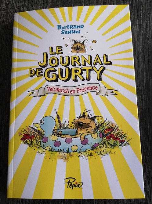 """Le journal de Gurty """"Vacances en provence"""""""