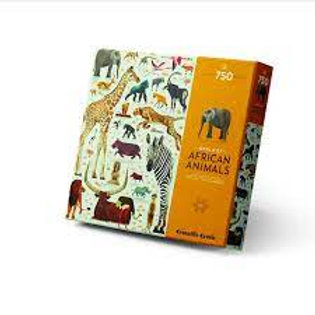"Puzzle world of African animals - 750 pcs   ""Bertoys"""