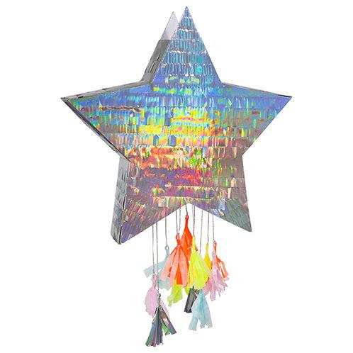 """Pinata étoile irisée """"Meri Meri"""""""