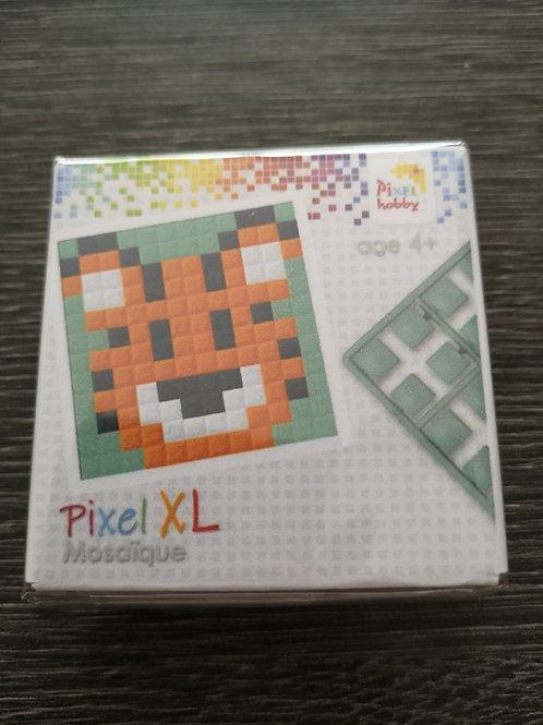 """Mini Kit Pixel XL  4 couleurs - Tigre - """"pixel hobby"""""""