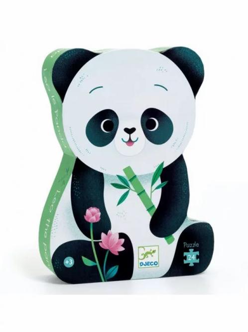 "Puzzle - Panda - 24 pcs ""Djeco"""