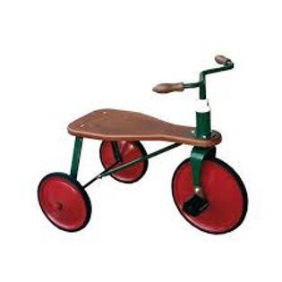 """Tricycle vintage (assise bois) """"Protocol"""""""