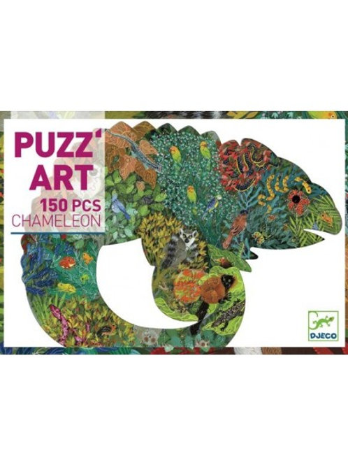 """Puzzle Caméléon 150 pcs """"Djeco"""""""
