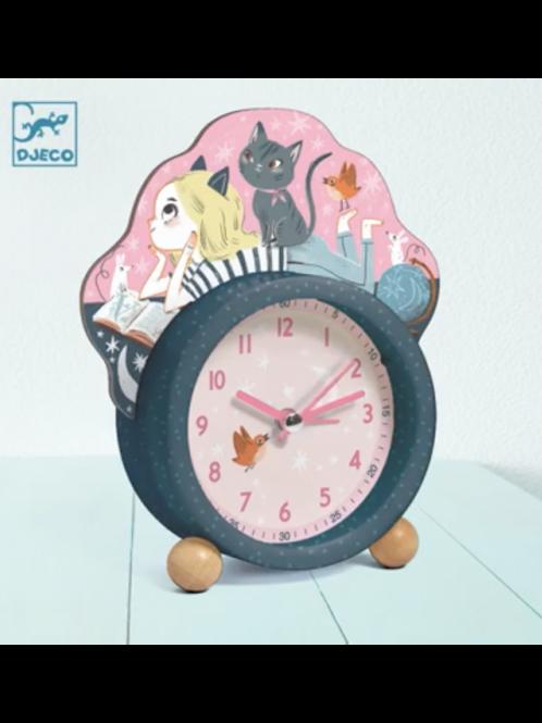 """Réveil petit chat  """"Djeco"""""""
