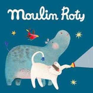 """3 disques lampe à histoires - Papoum """"Moulin Roty"""""""