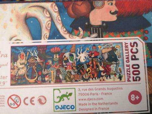 Puzzle gallery Djeco 500 pcs