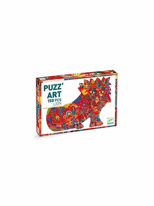 """Puzzle art Lion 150 pcs """"Djeco"""""""