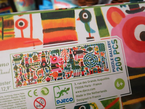 """Puzzle Gallery 200 pcs """"Djeco"""""""