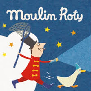 """3 disques lampe à histoires - cirque """"Moulin Roty"""""""