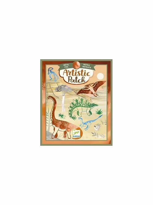 "Artistic patch - ¨Dinosaures - ""Djeco"""