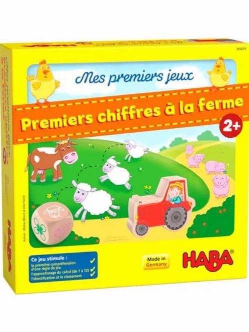"""Premiers jeux  - Chiffres à la ferme """"Haba"""""""