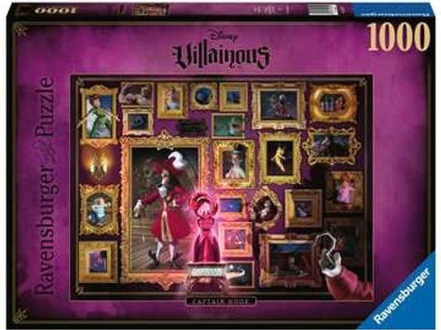 """Puzzle 1000 pcs - Capitaine Crochet """"Ravensburger"""""""