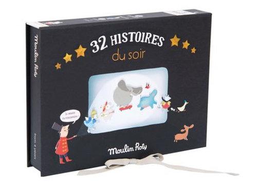 "Coffret 32 Histoires du soir ""Moulin Roty"""